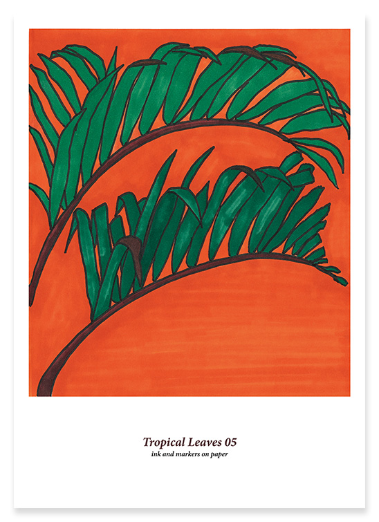 Tropical Leaves 05